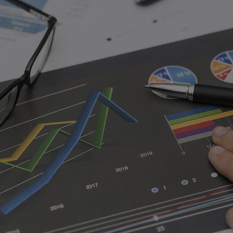 Consolidés - rapports écrits et commentés au chef d'entreprise